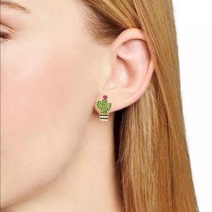 Kate Spade Jewelry Cactus Earrings Poshmark